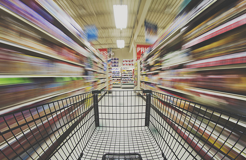 Day 3/365 - Ride in the Shopping Cart.. (Explored)
